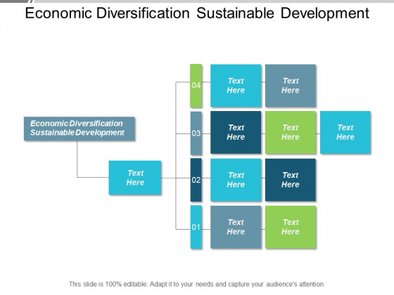 Economic Diversification Sustainable Development Ppt PowerPoint Presentation Gallery Structure Cpb