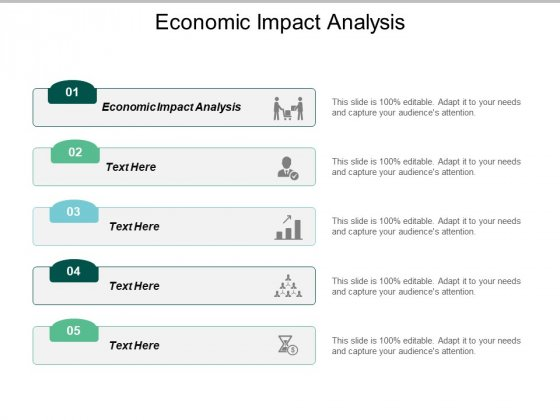 Economic Impact Analysis Ppt PowerPoint Presentation Model Vector Cpb