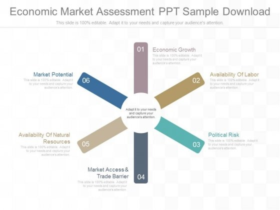 Economic Market Assessment Ppt Sample Download