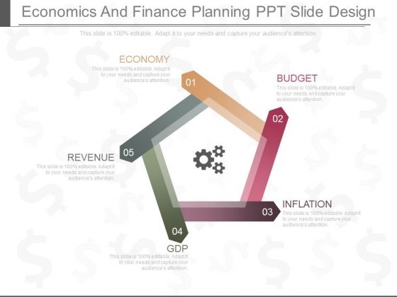 Economics And Finance Planning Ppt Slides Design