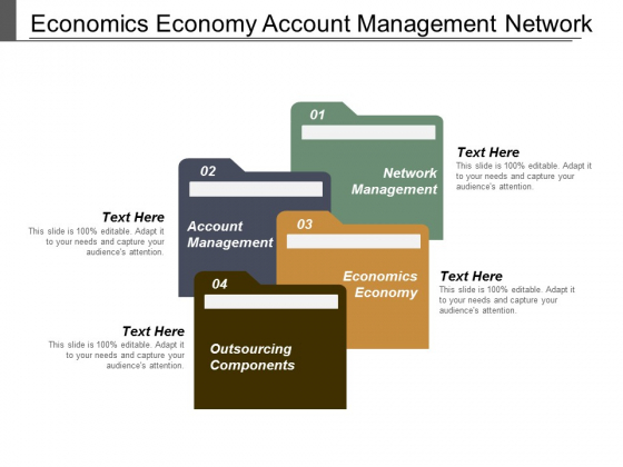 Economics Economy Account Management Network Management Outsourcing Components Ppt PowerPoint Presentation Inspiration Files