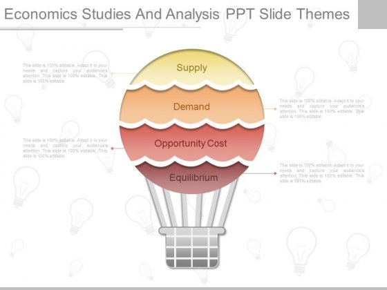 Economics Studies And Analysis Ppt Slide Themes