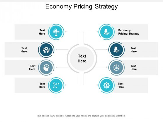 Economy Pricing Strategy Ppt PowerPoint Presentation Infographics Graphics Template Cpb