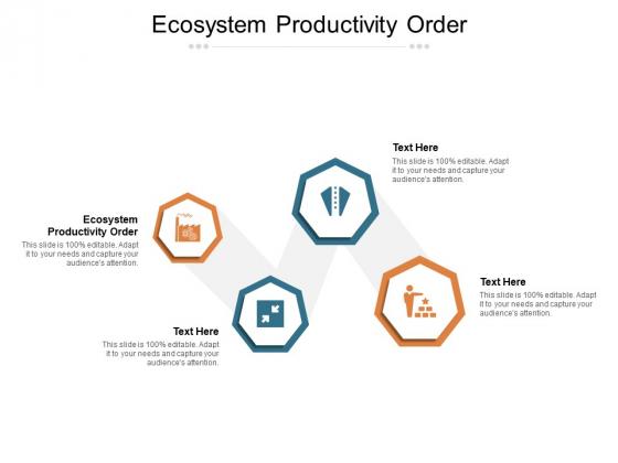 Ecosystem Productivity Order Ppt PowerPoint Presentation Summary Samples Cpb Pdf