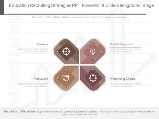Education Recruiting Strategies Ppt Powerpoint Slide Background Image