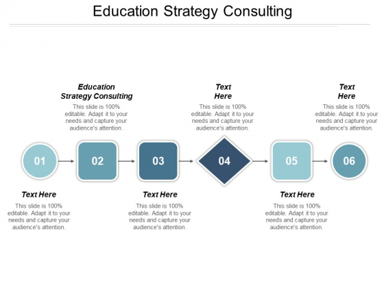 Education Strategy Consulting Ppt PowerPoint Presentation Styles Gallery