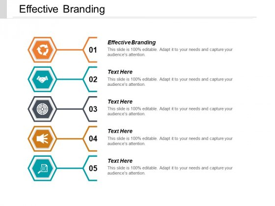 Effective Branding Ppt PowerPoint Presentation Ideas Outline Cpb