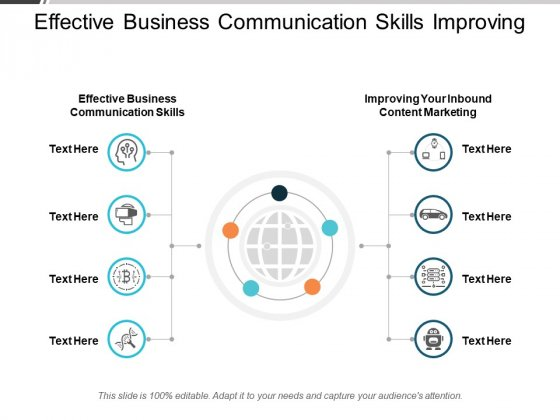 Effective Business Communication Skills Improving Your Inbound Content Marketing Ppt PowerPoint Presentation Slides Topics