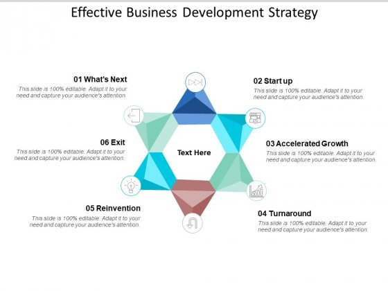 Effective Business Development Strategy Ppt PowerPoint Presentation Professional Example