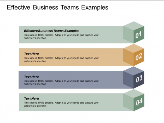Effective Business Teams Examples Ppt PowerPoint