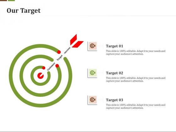 Effective Corporate Turnaround Management Our Target Ppt Professional Styles PDF