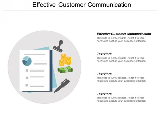 Effective Customer Communication Ppt PowerPoint Presentation Portfolio Inspiration