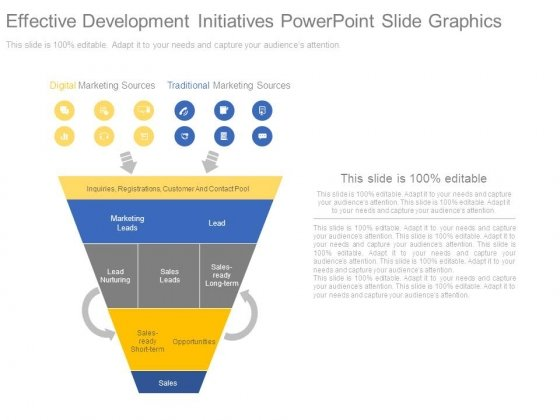 Effective Development Initiatives Powerpoint Slide Graphics