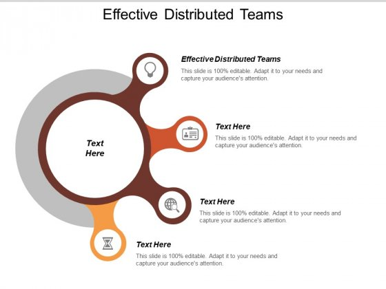 Effective Distributed Teams Ppt PowerPoint Presentation File Background Image