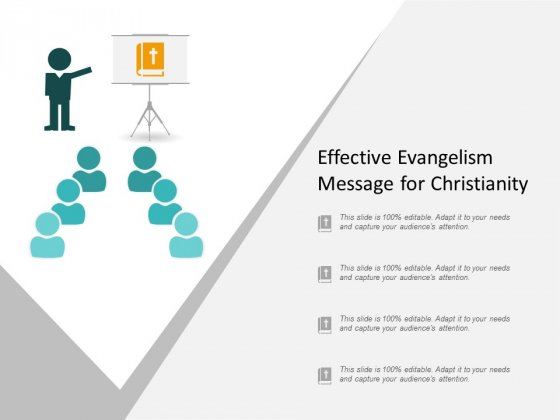 Effective Evangelism Message For Christianity Ppt Powerpoint Presentation Infographic Template Grid