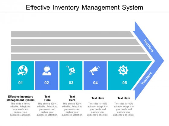 Effective Inventory Management System Ppt PowerPoint Presentation Infographics Portrait Cpb