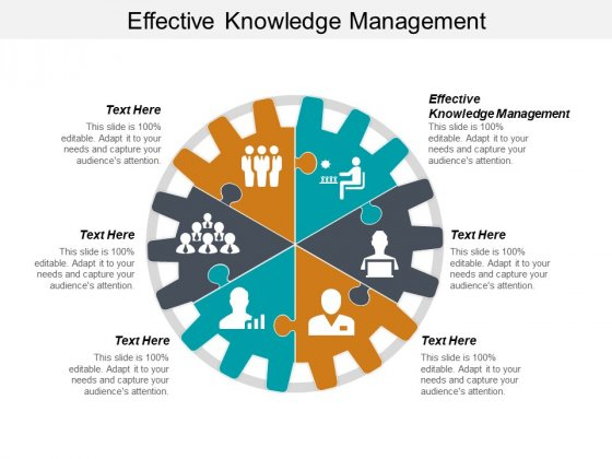 Effective Knowledge Management Ppt PowerPoint Presentation Pictures Graphics Tutorials Cpb