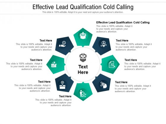 Effective Lead Qualification Cold Calling Ppt PowerPoint Presentation Ideas Graphics Tutorials Cpb Pdf