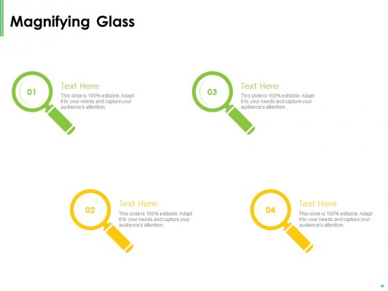 Effective Management Magnifying Glass Audience Attention Ppt Ideas Brochure PDF