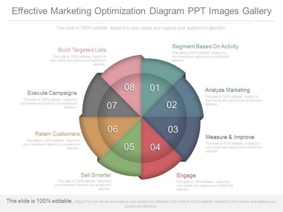 Effective Marketing Optimization Diagram Ppt Images Gallery