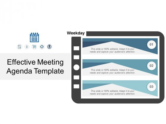 Effective Meeting Agenda Template Ppt PowerPoint Presentation Gallery Background