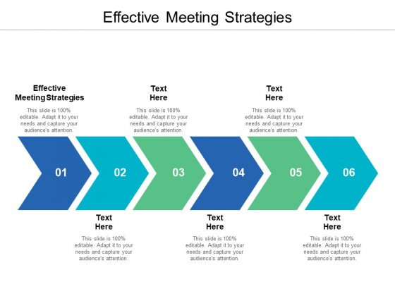 Effective Meeting Strategies Ppt PowerPoint Presentation Professional Backgrounds Cpb
