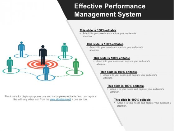 Effective Performance Management System Ppt PowerPoint Presentation Slides Microsoft