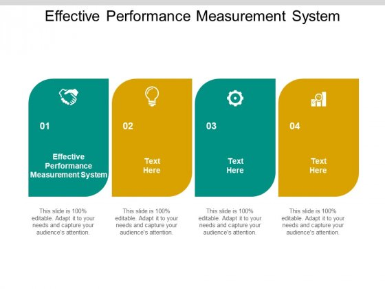 Effective Performance Measurement System Ppt PowerPoint Presentation Inspiration Graphics Design Cpb Pdf