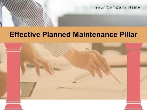 Effective Planned Maintenance Pillar Implementation Ppt PowerPoint Presentation Complete Deck
