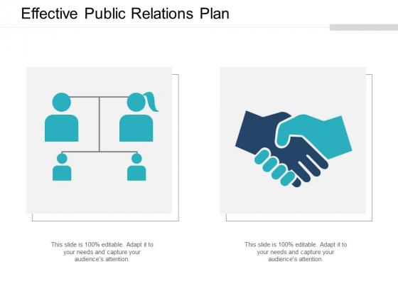 Effective Public Relations Plan Ppt Powerpoint Presentation Deck