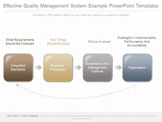 Effective Quality Management System Example Powerpoint Templates
