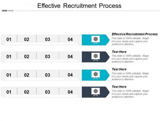 Effective Recruitment Process Ppt PowerPoint Presentation Model Mockup Cpb