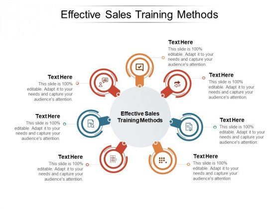 Effective Sales Training Methods Ppt PowerPoint Presentation Model Graphic Tips Cpb Pdf