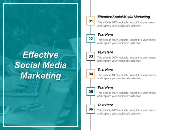 Effective Social Media Marketing Ppt PowerPoint Presentation Portfolio Files Cpb