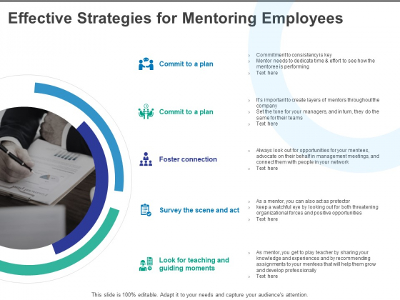 Effective Strategies For Mentoring Employees Ppt PowerPoint Presentation Professional Samples
