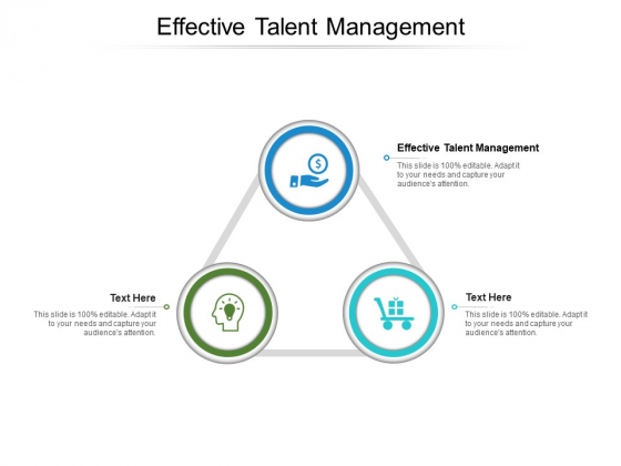 Effective Talent Management Ppt PowerPoint Presentation Summary Cpb