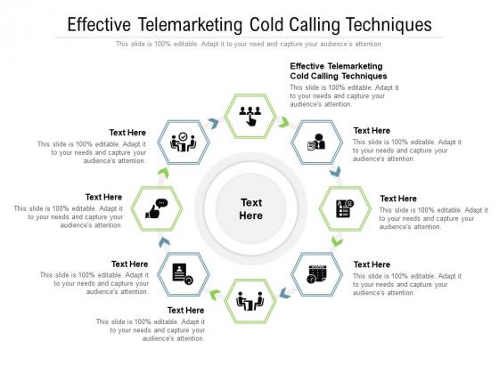 Effective Telemarketing Cold Calling Techniques Ppt PowerPoint Presentation Portfolio Samples Cpb Pdf