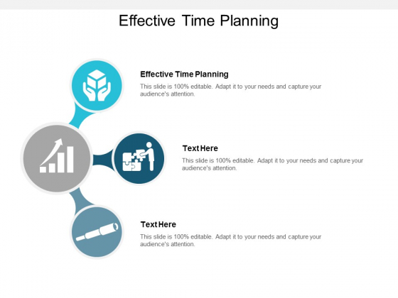 Effective Time Planning Ppt PowerPoint Presentation Infographics Example File Cpb