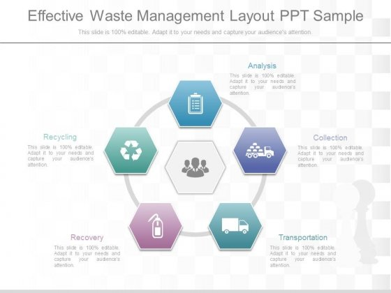 Effective Waste Management Layout Ppt Sample  Powerpoint Templates