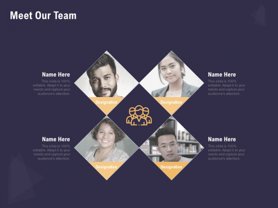 Effective Workforce Management Meet Our Team Ppt PowerPoint Presentation Styles Portrait PDF