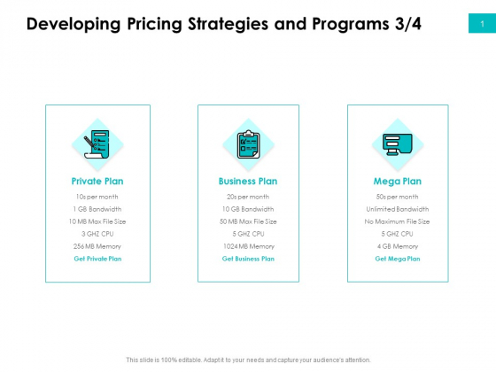 Effectivity Associated To Target Market Developing Pricing Strategies And Programs Private Template PDF
