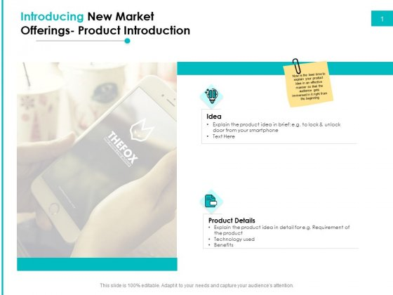 Effectivity Associated To Target Market Introducing New Market Offerings Product Introduction Template PDF