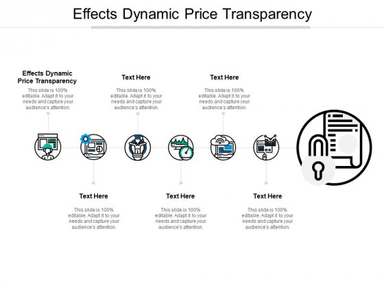 Effects Dynamic Price Transparency Ppt PowerPoint Presentation Outline Example File Cpb Pdf