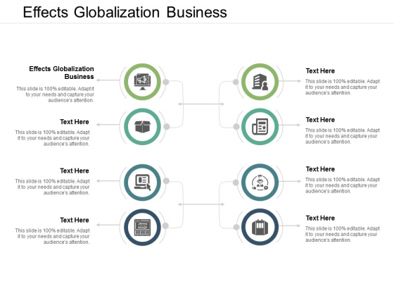 Effects Globalization Business Ppt PowerPoint Presentation Pictures Graphic Images Cpb