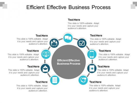 Efficient Effective Business Process Ppt PowerPoint Presentation Styles Inspiration Cpb