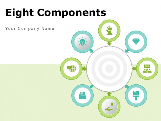 Eight Components Process Requirement Organizational Corporate Typefaces Ppt PowerPoint Presentation Complete Deck
