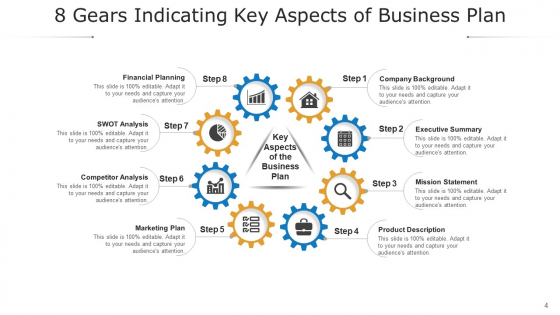 Eight_Gearwheel_Financial_Planning_Ppt_PowerPoint_Presentation_Complete_Deck_Slide_4