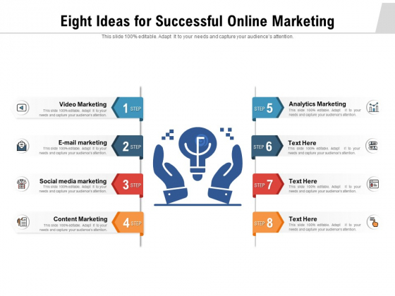 Eight_Ideas_For_Successful_Online_Marketing_Ppt_PowerPoint_Presentation_Inspiration_PDF_Slide_1