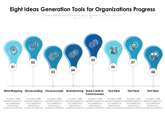 Eight_Ideas_Generation_Tools_For_Organizations_Progress_Ppt_PowerPoint_Presentation_Pictures_Layouts_PDF_Slide_1
