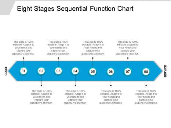 Eight Stages Sequential Function Chart Ppt PowerPoint Presentation Professional Maker